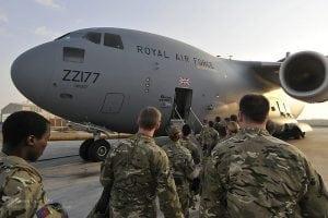 RAF C17 Transport Aircraft