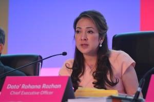 Astro CEO-Dato' Rohana Rozhan