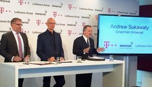 Inmarsat Deutsche Telekom Lufthansa