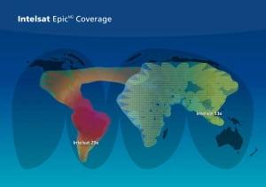 Intelsat EpicNG Coverage Map