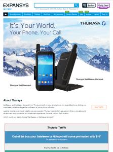 Expansys Thuraya