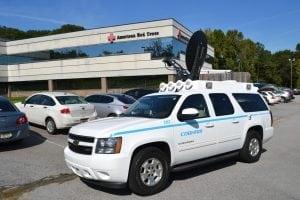 Cobham Satcom Explorer Flood South Carolina