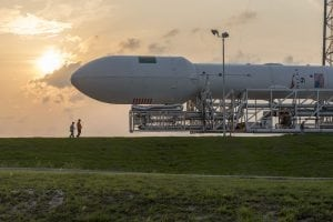 SpaceX Falcon 9 Rollout