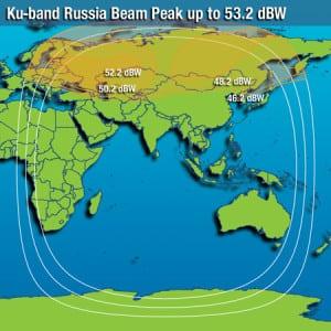 Intelsat 15 Coverage Map