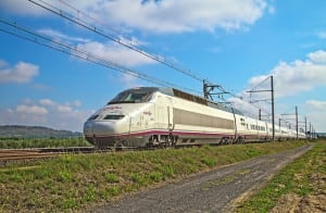 Renfe S100 Train Nissan-lez-Enserune