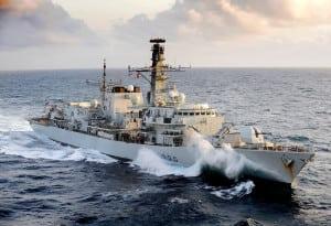 Royal Navy Type 23 Frigate HMS Northumberland