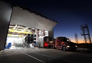 SpaceX Falcon 9 Hangar