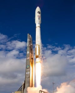 Launch of Atlas 5 OTV3 from Cape Canaveral, Fla. December 2012. Photo: ULA