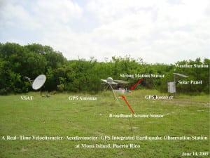 USGS Mona GPS seismic