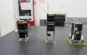 STU CubeSats SECM