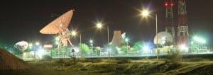 Batelco teleport in Bahrain.