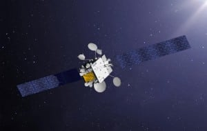 Artist rendition of a Comsat NG satellite. pHoto: Thales Alenia Space