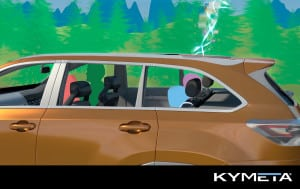 Kymeta Connected Car