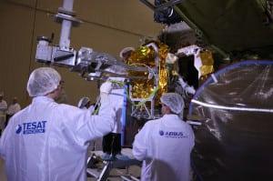 EDRS-A Airbus ESA SpaceDataHighway