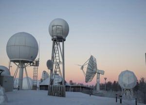 KSAT antennas Tromso