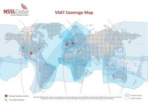 NSSLGlobal VSAT coverage