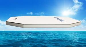 Panasonic Kymeta Maritime Antenna