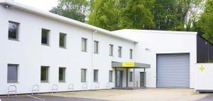 Paradigm headquarters, Alton