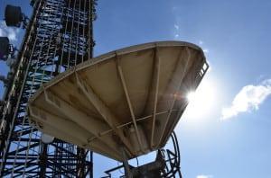 Satellite Ground Station stock