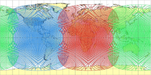 ViaSat 3 Map