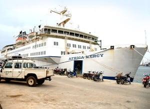 Africa Mercy hospital ship