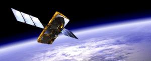 Artist's rendering of a Globalstar satellite