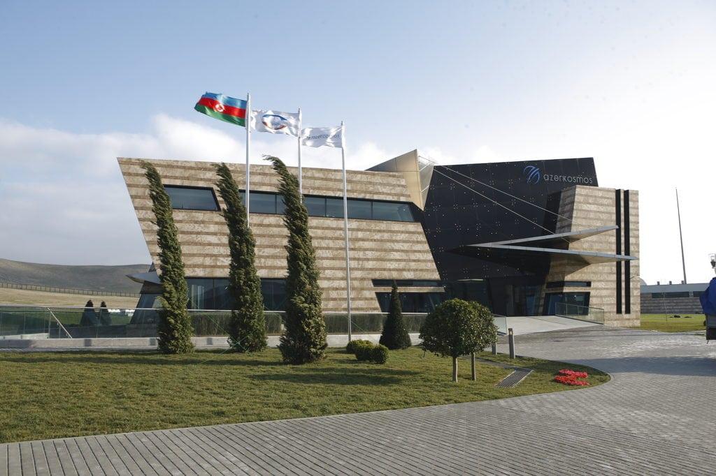 Azercosmos' main satellite ground control station.
