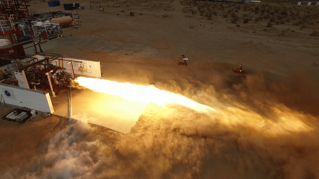 Virgin Galactic Newton 3 LauncherOne