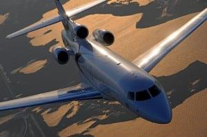 Dassault Aviation Falcon 8X aircraft