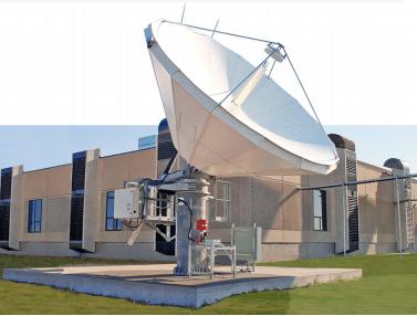 5.6m ASC Signal Ka-band CPI Antenna. Photo: CPI