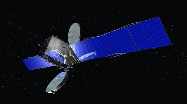 Optus D2 Orbital