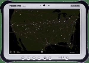 Panasonic Satcom Tracking