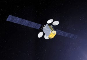 Artist rendition of the Broadband for Africa satellite, which is planned to launch in 2019