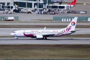 A China Eastern Airlines Boeing 737-89P(WL) at Seoul Incheon International Airport.