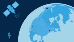 Gogo Satellite Graphic
