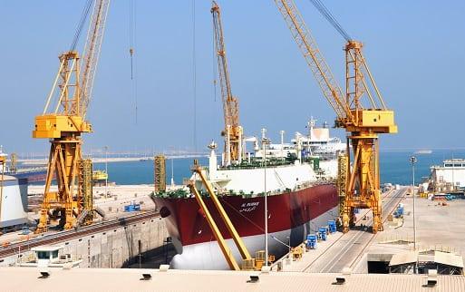 LNG ship vessel Nakilat