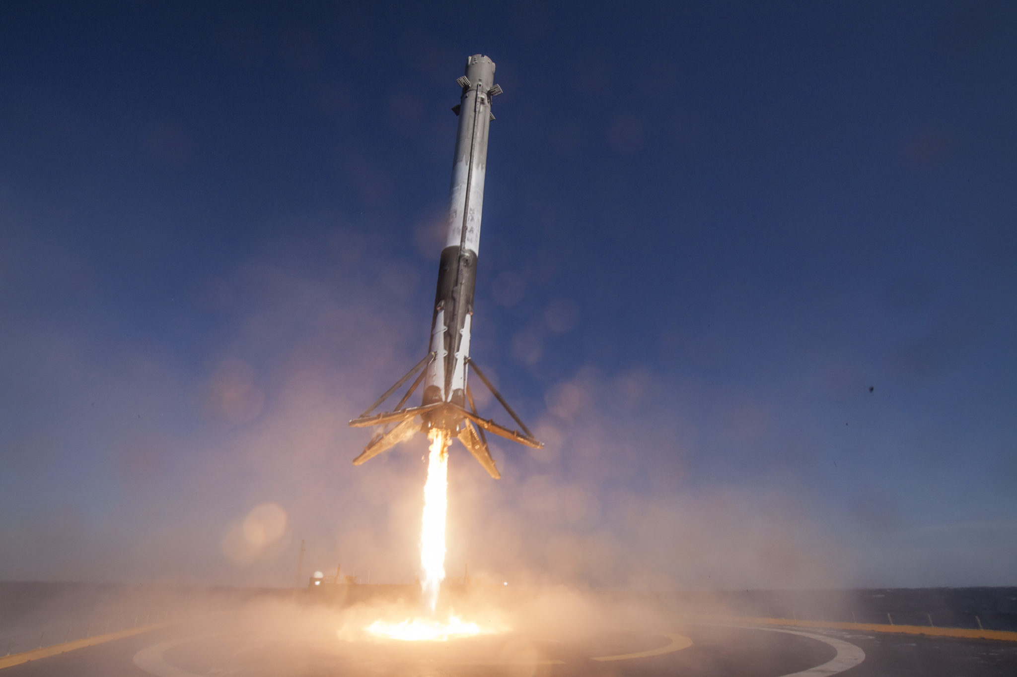 SpaceX CRS-8 rocket droneship