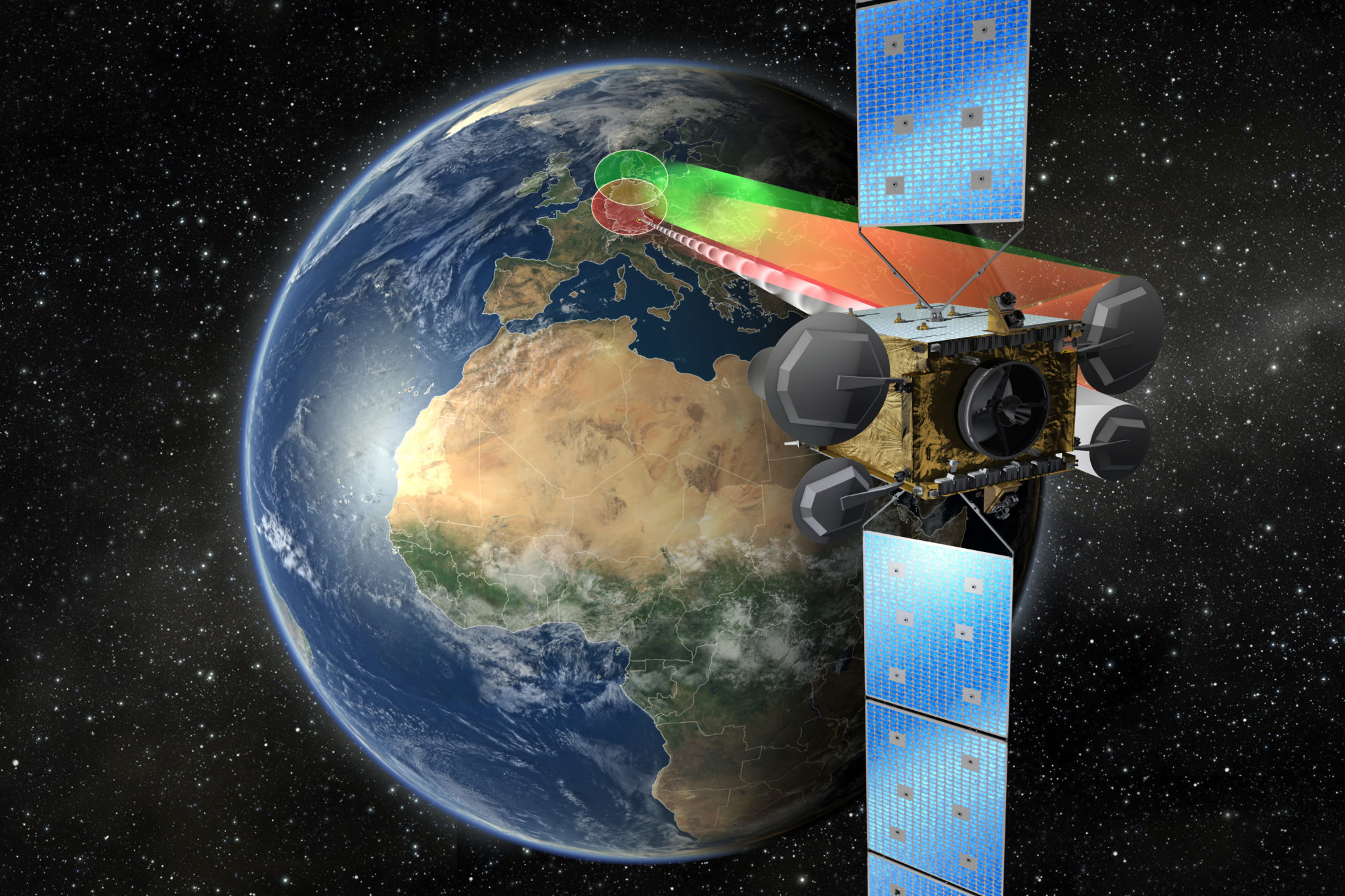 Heinrich Hertz Satellite OHB