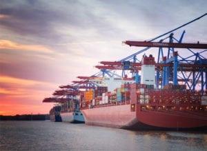 Shipping vessel.