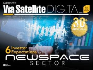 Via Satellite NextSpace Edition 2016 magazine cover