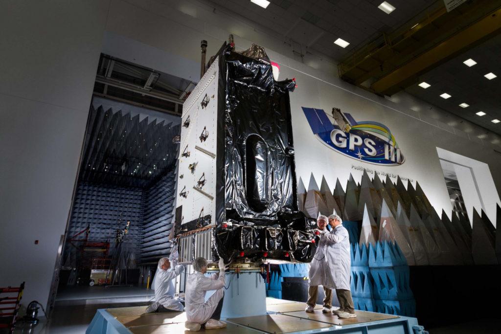 GPS 3 Lockheed Martin