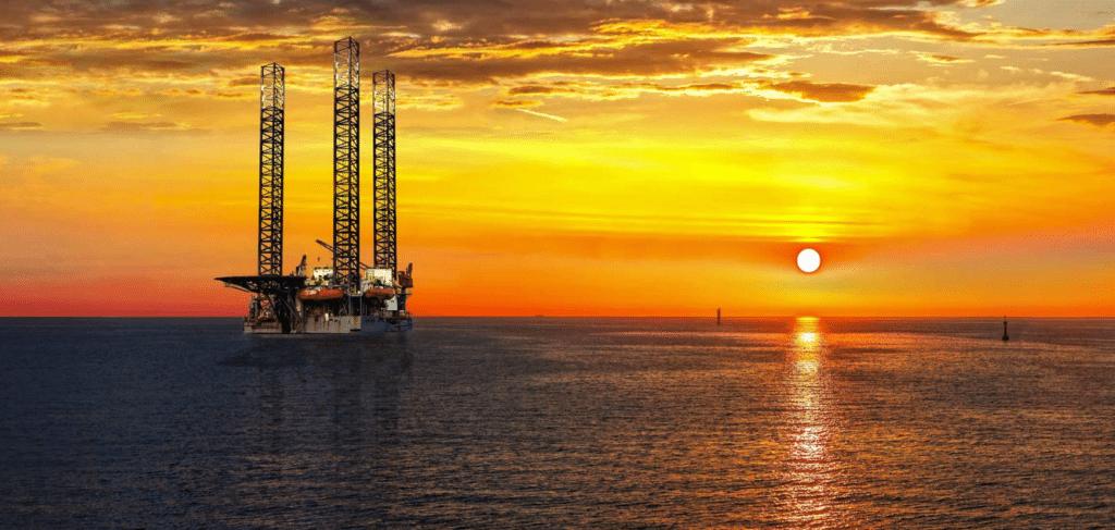 Offshore platform. Image: Stock Photo