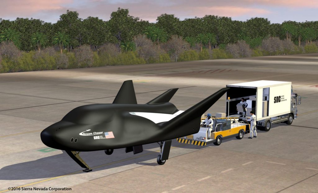 SNC Dream Chaser Runway
