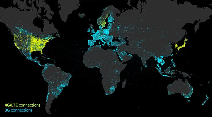 Global networks. Facebook
