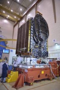 AsiaSat 8 satellite. Photo: AsiaSat