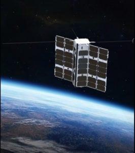 Clyde Space 3U satellite rendering. Photo: Clyde Space
