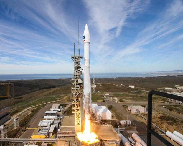 DigitalGlobe WorldView 4 satellite launch onboard an Atlas V rocket. Photo: United Launch Alliance