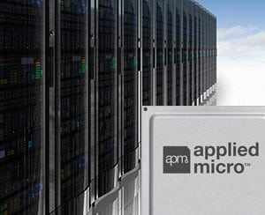 Applied Micro's PQx 10G/40G Optical Transport Network (OTN) framer/PHY System-on-a-Chip (SoC) for carrier ethernet router and WDM transport systems. Photo: Applied Micro