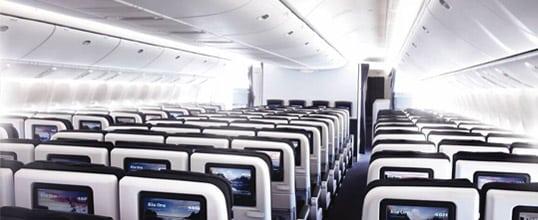 Air New Zealand economy seats. Photo: Air New Zealand