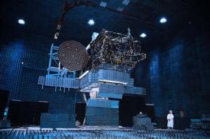EchoStar XXI satellite. Photo: SSL